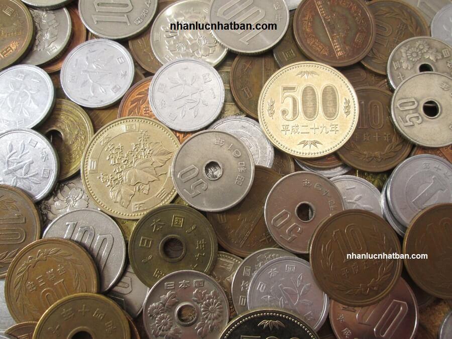 Các loại tiền xu ở Nhật Bản