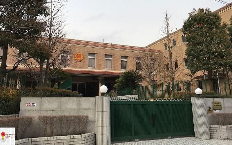 Đai sứ quán Việt Nam tại Tokyo