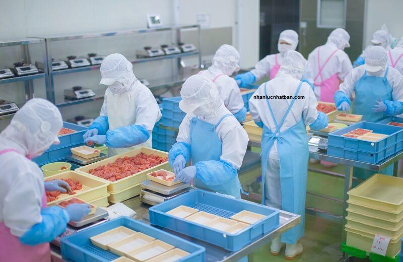 Đơn hàng gia công chế biến thực phẩm không dùng nhiệt