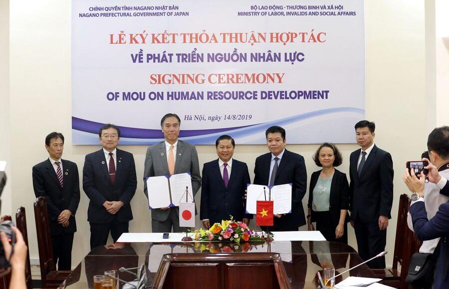 Hợp tác lao động xuất khẩu Việt Nam và Nhật Bản