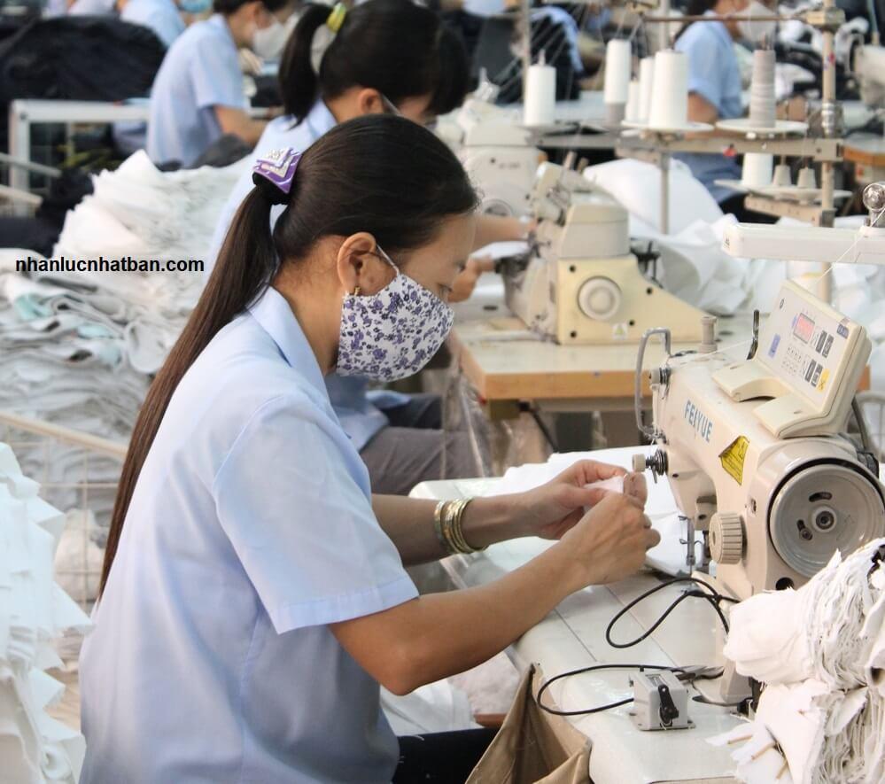 điều kiện xuất khẩu lao động Nhật Bản ngành may mặc