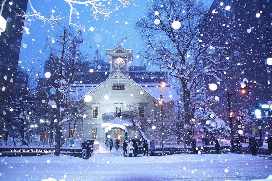 Mùa đông ở Nhật Bản