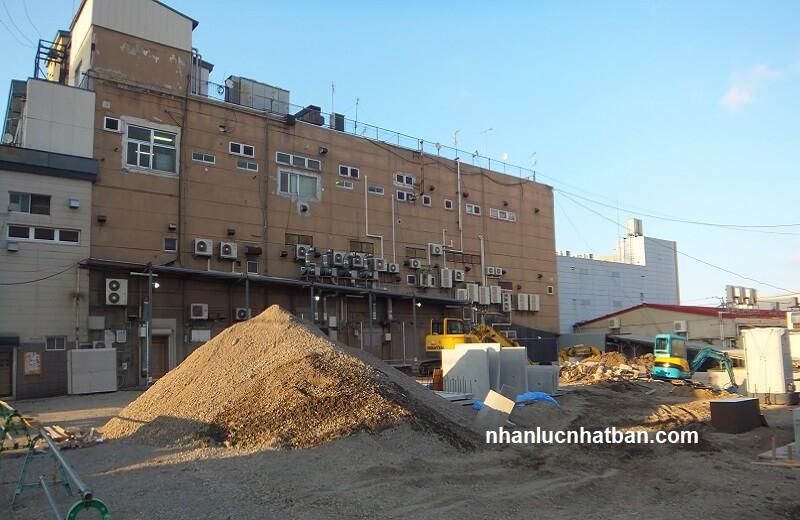 Đơn hàng xây trát xuất khẩu lao động nhật bản