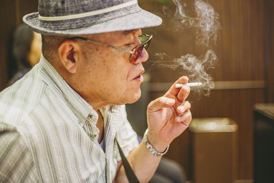 Phòng dành cho người hút thuốc lá ở Nhật Bản