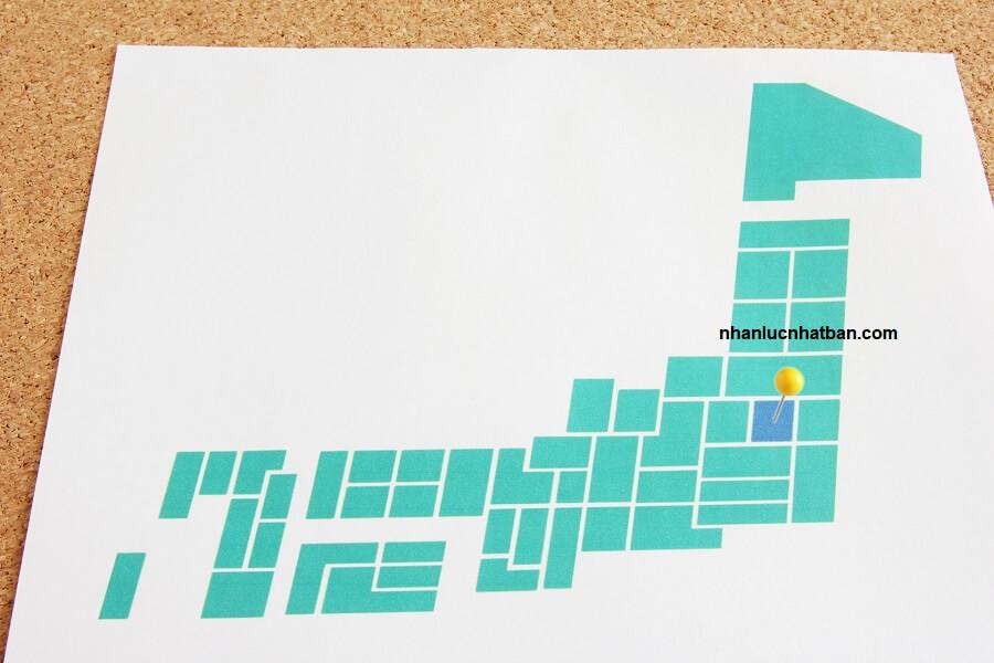 Vị trí địa lý tỉnh Tochigi Nhật Bản