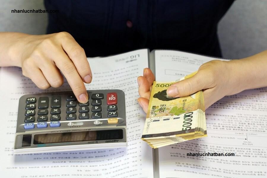 Mức lương xuất khẩu lao động Hàn Quốc