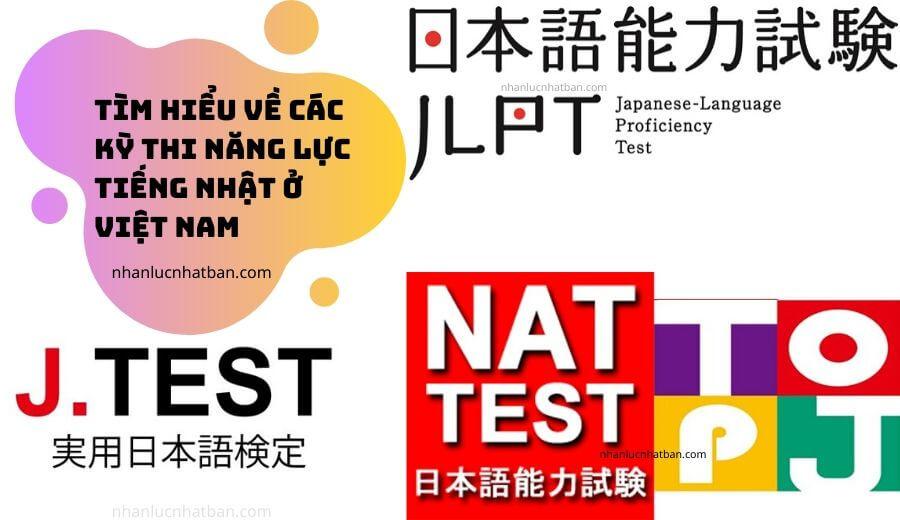 Tìm hiểu về các kỳ thi năng lực tiếng Nhật ở Việt Nam