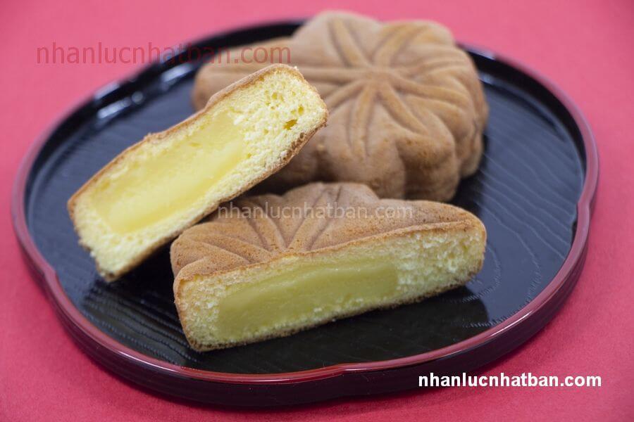 Bánh lá phong Momiji manju