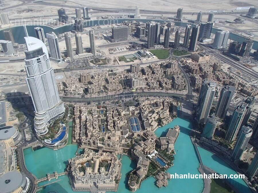 Các tiểu vương quốc Ả Rập thống nhất giàu có