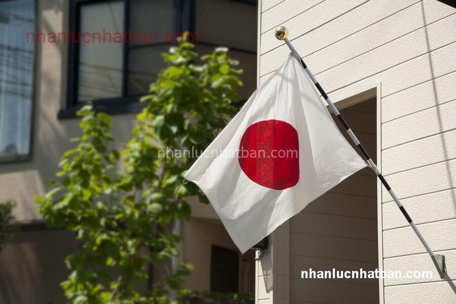 Hình ảnh lá cờ nhật bản