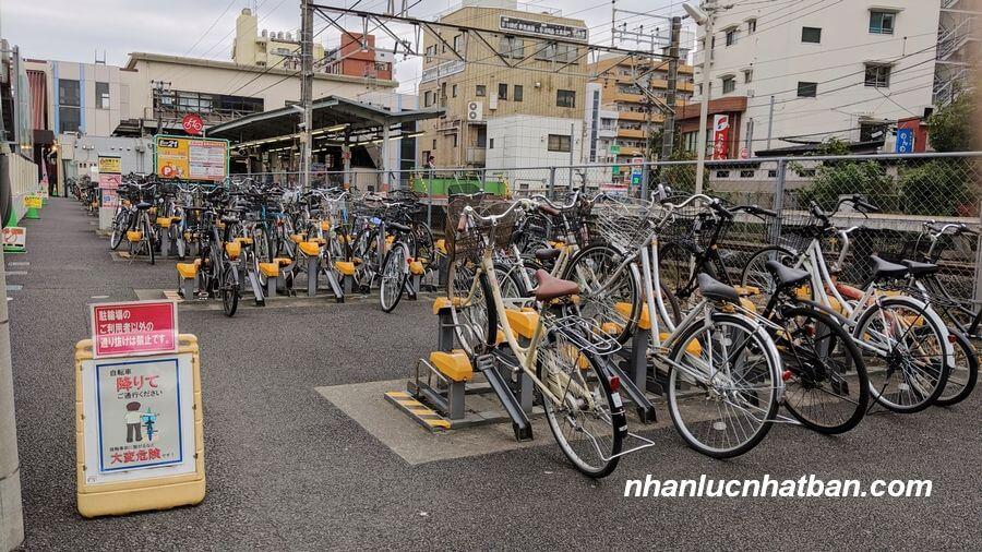 Bãi đỗ xe ở Nhật