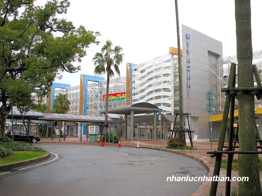 Hệ thống giao thông tỉnh miyazaki