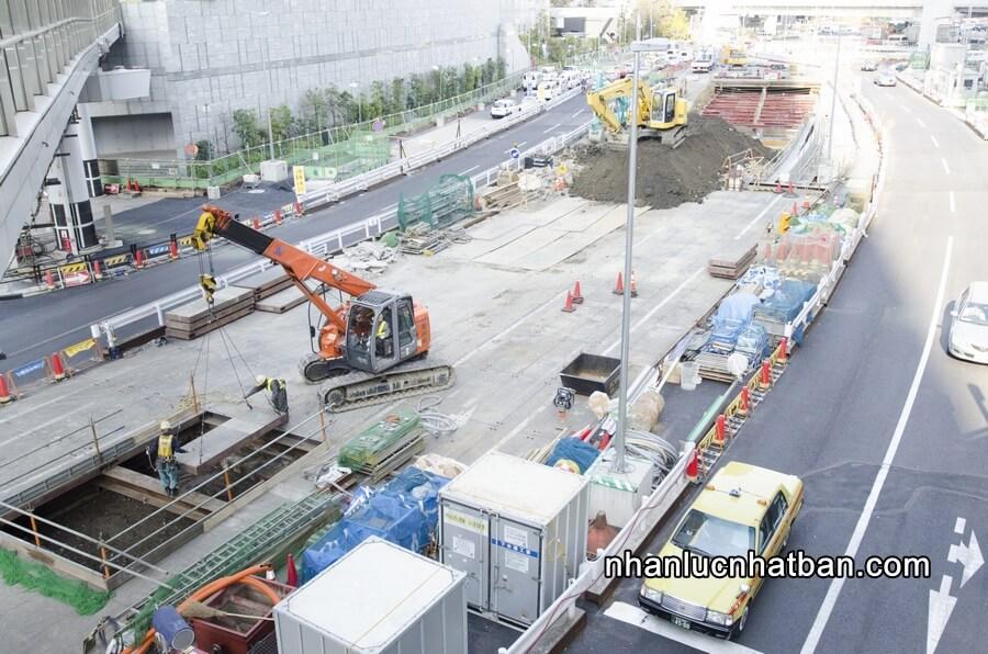 Đặc điểm ngành xây dựng Nhật Bản