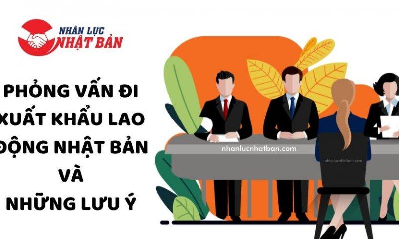 Phong van di xuat khau lao dong Nhat Ban